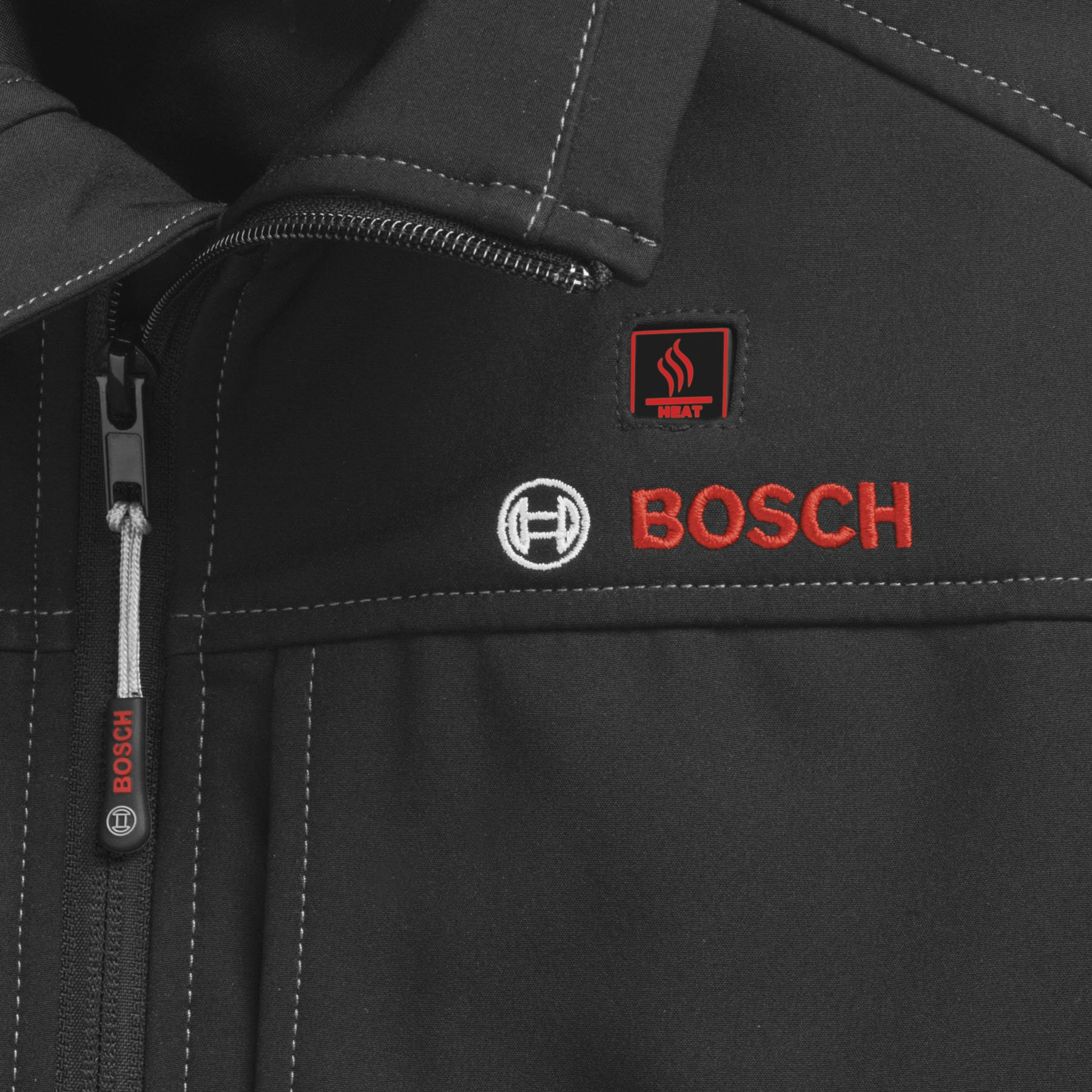 Bosch PSJ120L-102 Men's 12-volt Max Lithium-Ion Soft Shell Heated Jacket Kit with 2.0Ah Battery, Charger and Holster by Bosch (Image #8)