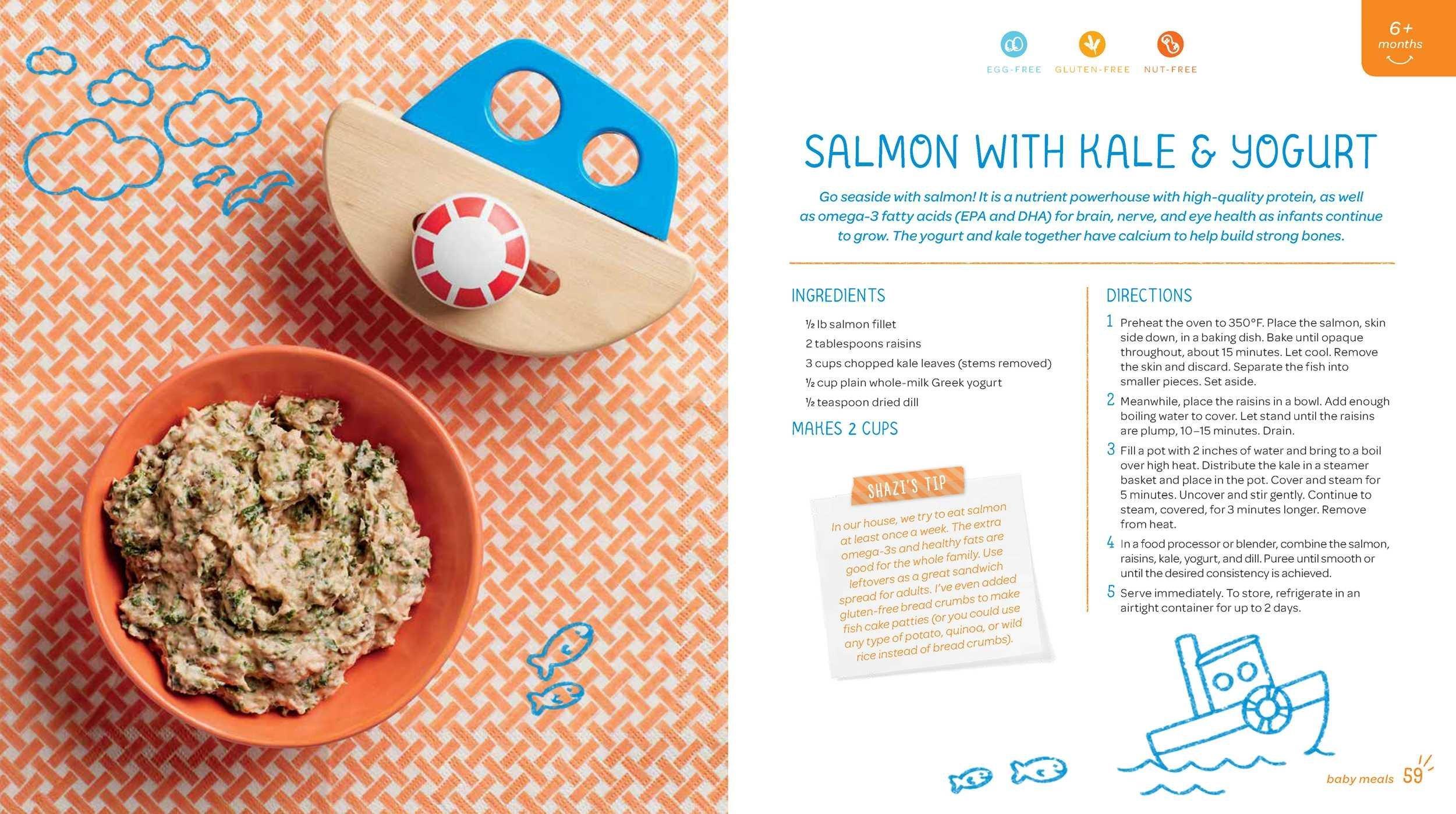 Amazon: The Happy Familyanic Superfoods Cookbook For Baby & Toddler  (9781681880495): Shazi Visram, Cricket Azima: Books