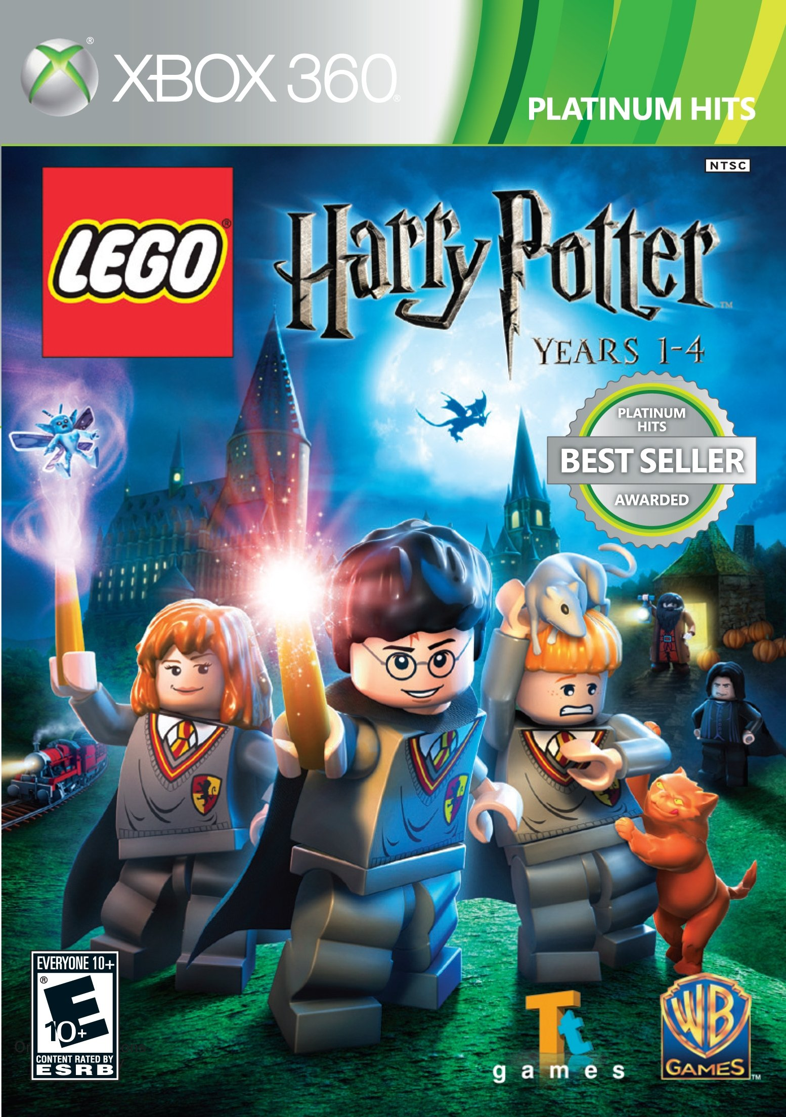 Amazon Com Lego Harry Potter Years 1 4 Xbox 360 Whv Games Video