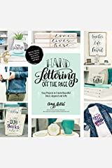 Hand Lettering Off the Page: Easy Projects to Create Beautiful Décor, Apparel and Gifts (English Edition) eBook Kindle