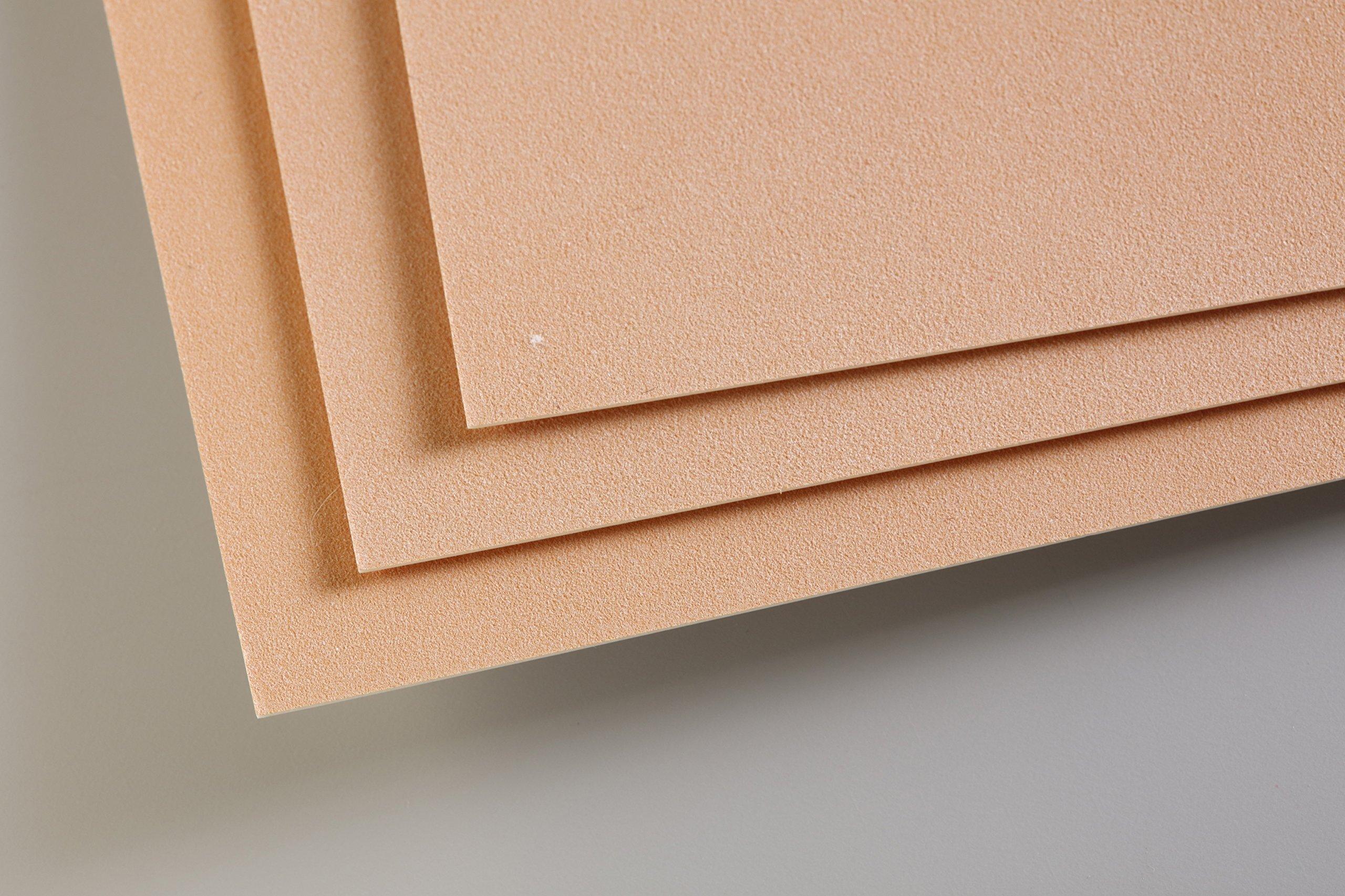 EXTREMITY (Bellaphon) Clairefontaine PastelMat 50 x 70 cm Sheets, 360 g, Sienna, 5 Sheets by EXTREMITY (Bellaphon) (Image #1)