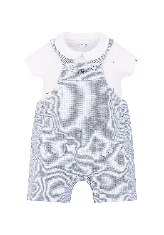 Mothercare Heritage, Completino Bimbo Blue (Blu PE165-128) Neonato