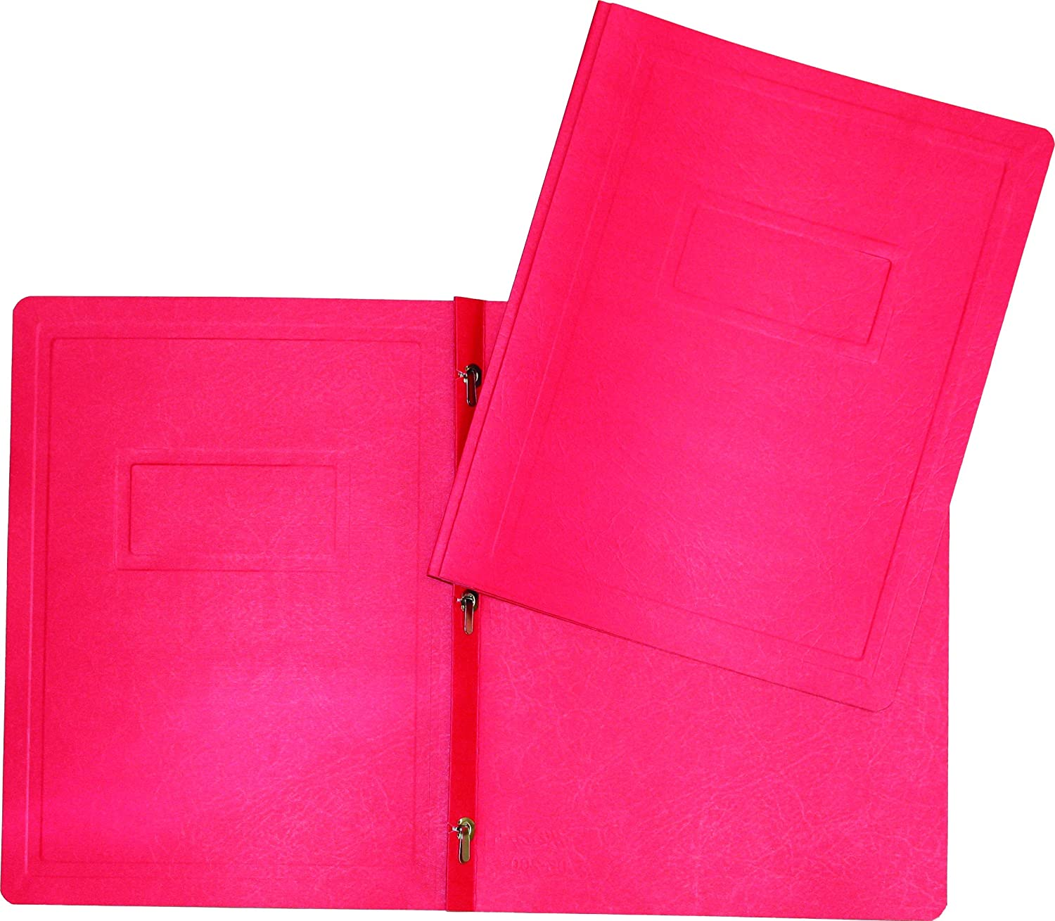 Hilroy 06237 3-Prong Report Cover, Red, 25 Per Pack