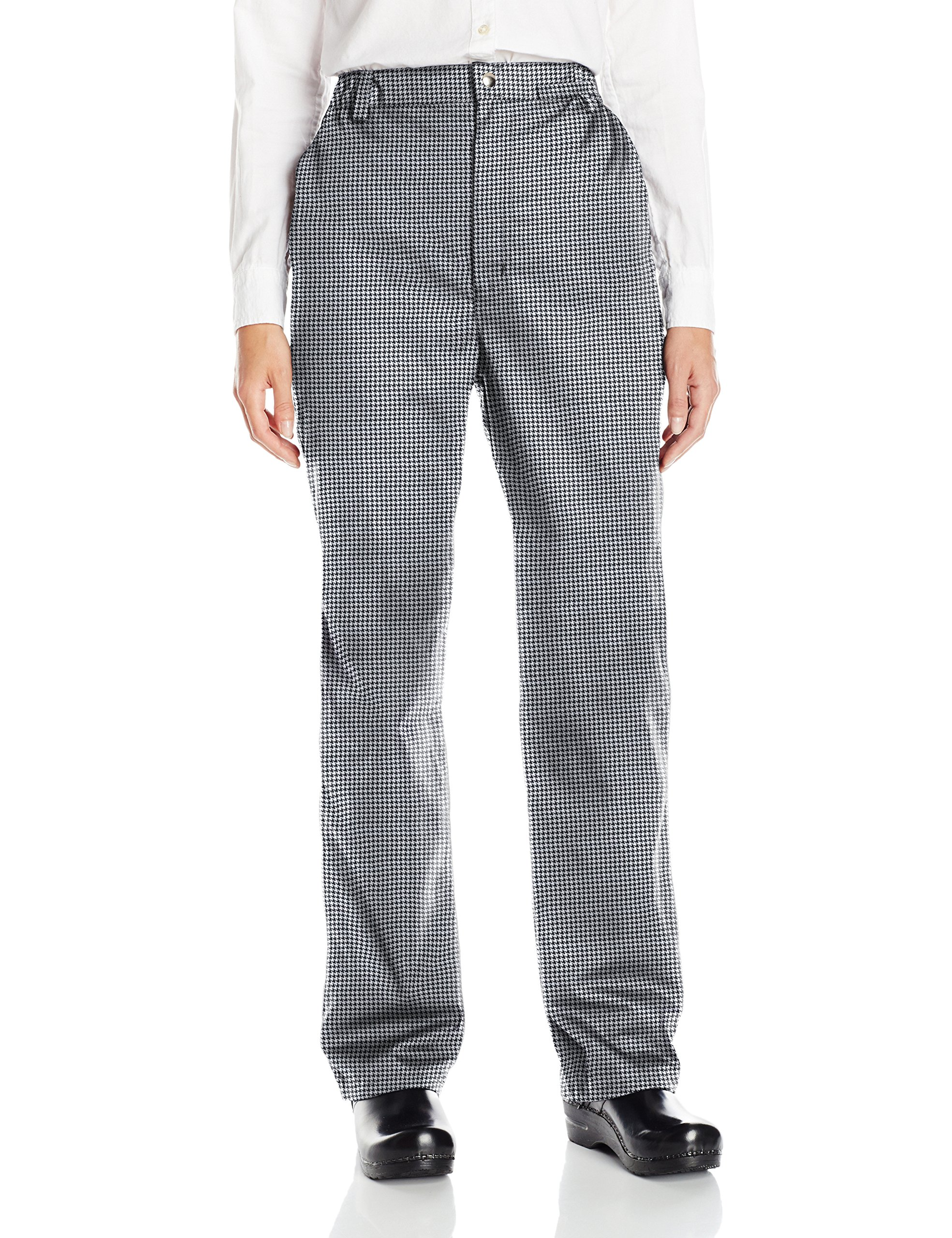 Uncommon Threads Unisex Executive Chef Pant, Houndstooth, X-Large