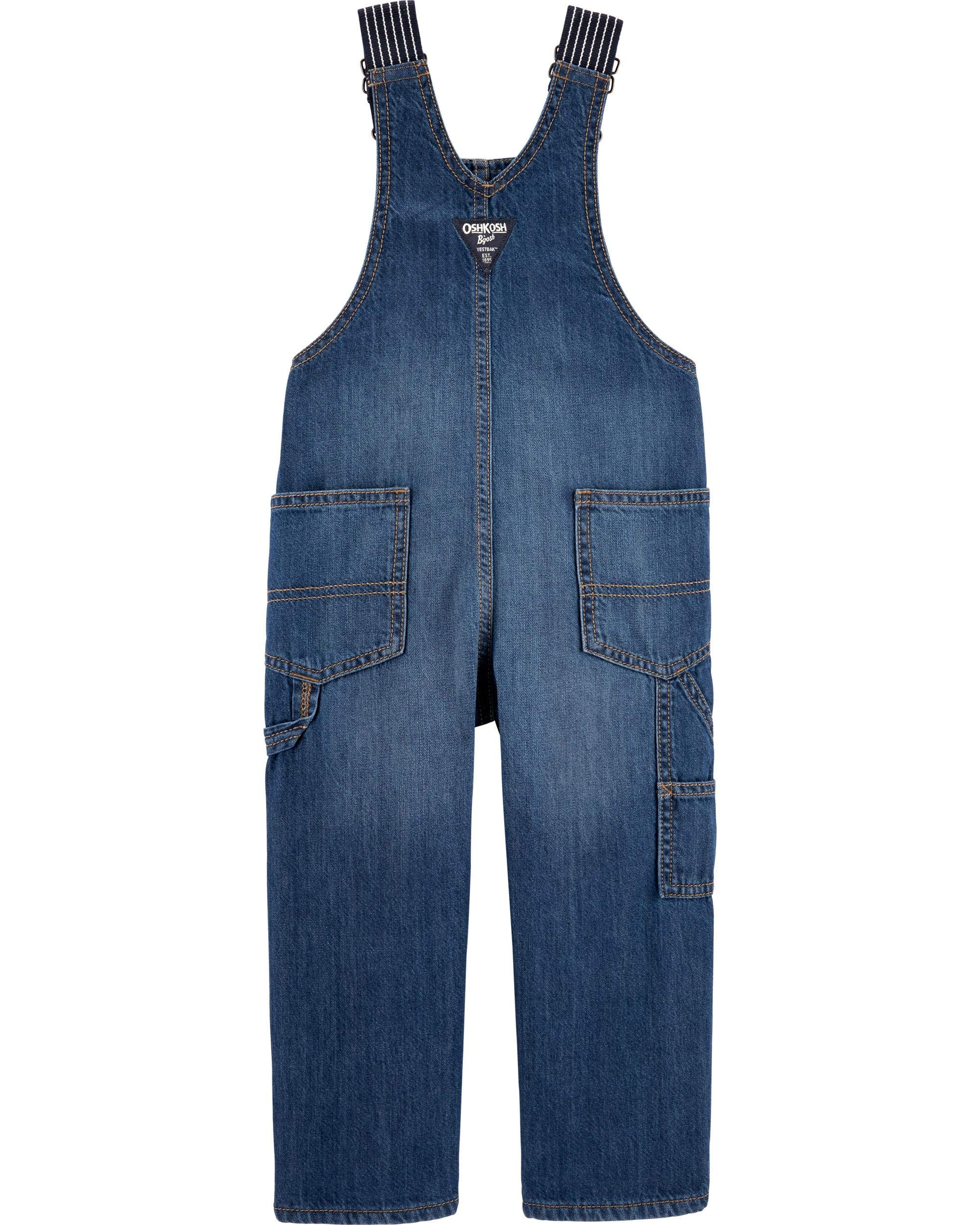 2T Deep Navy Osh Kosh Boys Toddler Worlds Best Overalls