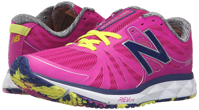 New Balance Women's W1500V2 Running Shoe W, PinkWhite 5.5 D US