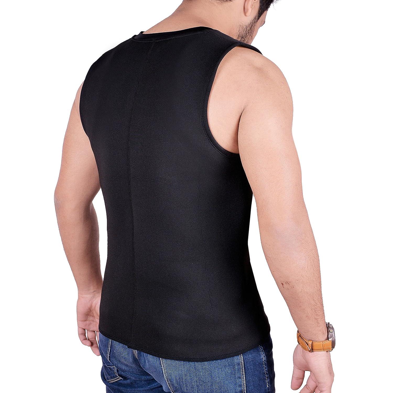 ARD Men/'s Body Shaper Sauna Vest Neoprene Tank Top Weight Loss Burn More Fat and Produce Heat for Workouts Shapewear