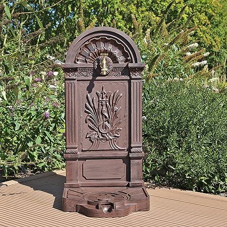 Standbrunnen Brunnen Wasserhahn Wasserzapfstelle Wandbrunnen Zierbrunnen Garten