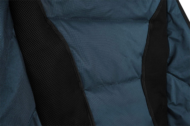 Traglast: 150 Kg 330 lbs normani Deluxe Campingsessel Relaxsessel XXL Moonchair Schalensitz- Comfort Camping-Stuhl Gepolsterter Outdoor Klappstuhl