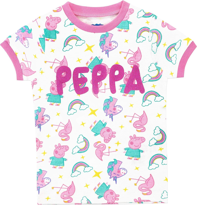 Peppa Pig Girls Unicorn Pajamas