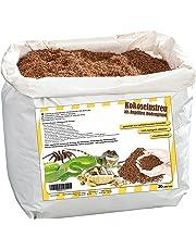Humusziegel - Substrat de Terrarium - 100% Pure Terre de Coco - Litière de Coco Substrat - Sac de 20 litres