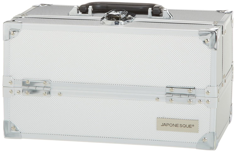 Japonesque Medium Train Case - Silver  Amazon.co.uk  Luxury Beauty 86e73fa308489