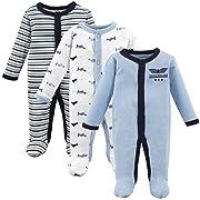 Luvable Friends Baby Preemie Sleep and Play, 3 Pack, Airplanes,