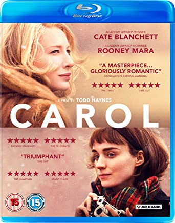 Image result for carol blu ray