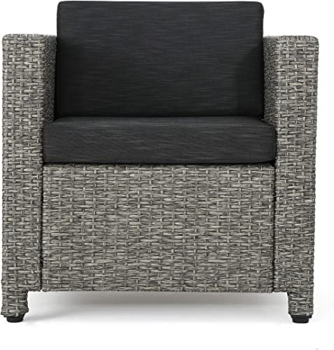 Christopher Knight Home Puerta Outdoor Wicker Club Chair