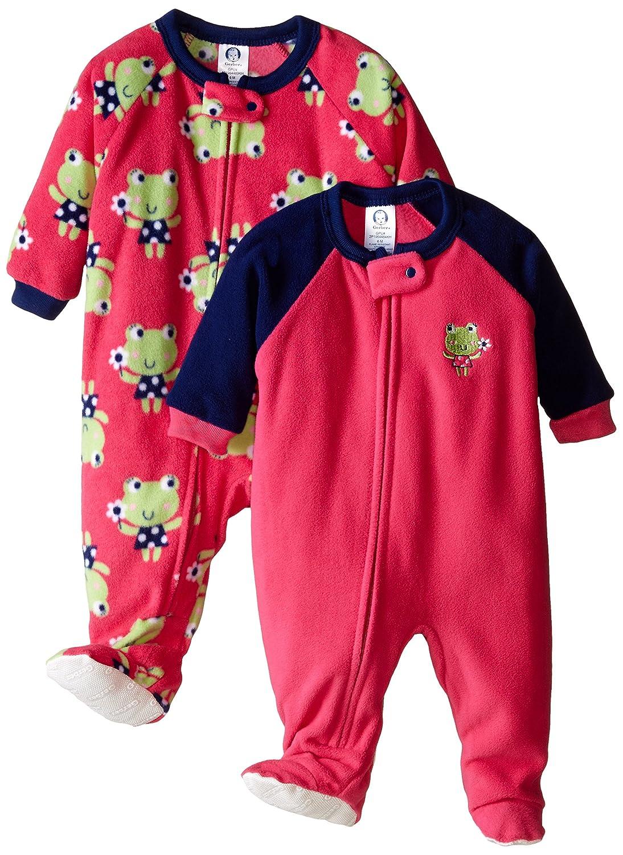 GERBER Baby Girls 2-Pack Blanket Sleeper