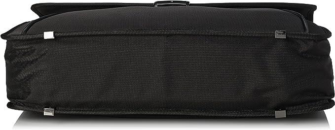 12 L 42 cm SAMSONITE Desklite Cartable Noir 67768-1041