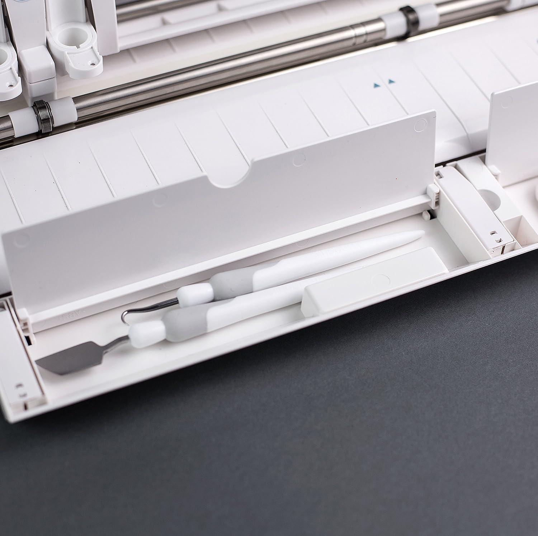 Amazon.com: Silhouette SILHOUETTE CAMEO 3 4T Cameo 3 Wireless Cutting  Machine AutoBlade Dual Carriage Studio Software, White