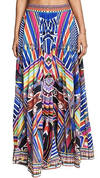 09d42dc27 Camilla Women's Tsachila Blessing Pleated Skirt, Blessing, X-Small ...