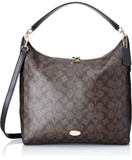 df390d4648 Amazon.com  Coach Outline Signature Celeste Hobo Shoulder Crossbody ...