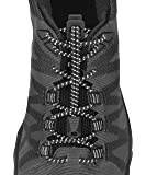 Nathan Unisex-Adult Run Laces Reflective Black NS1171-0015-00-P