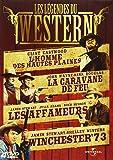Les Légendes du western - Coffret - L'homme des hautes plaines + La caravane de feu + Winchester 73 + Les affameurs