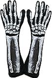 Kangaroo's Halloween Accessories - Deluxe Skeleton Gloves