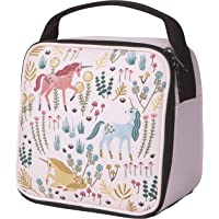 Now Designs Unicorn Let's Insulated Lunch Bag, Pink