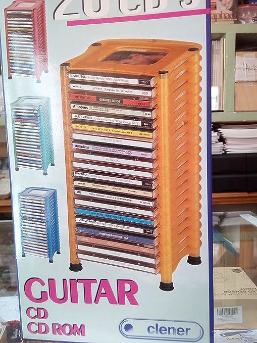 ARCHIVADOR PARA CDS GUITAR 20 CDS