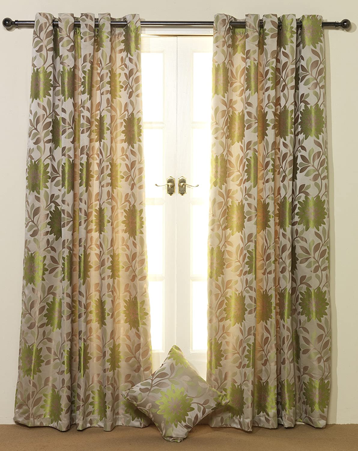 Lime Green Curtains 108 Drop Curtain Menzilperde Net