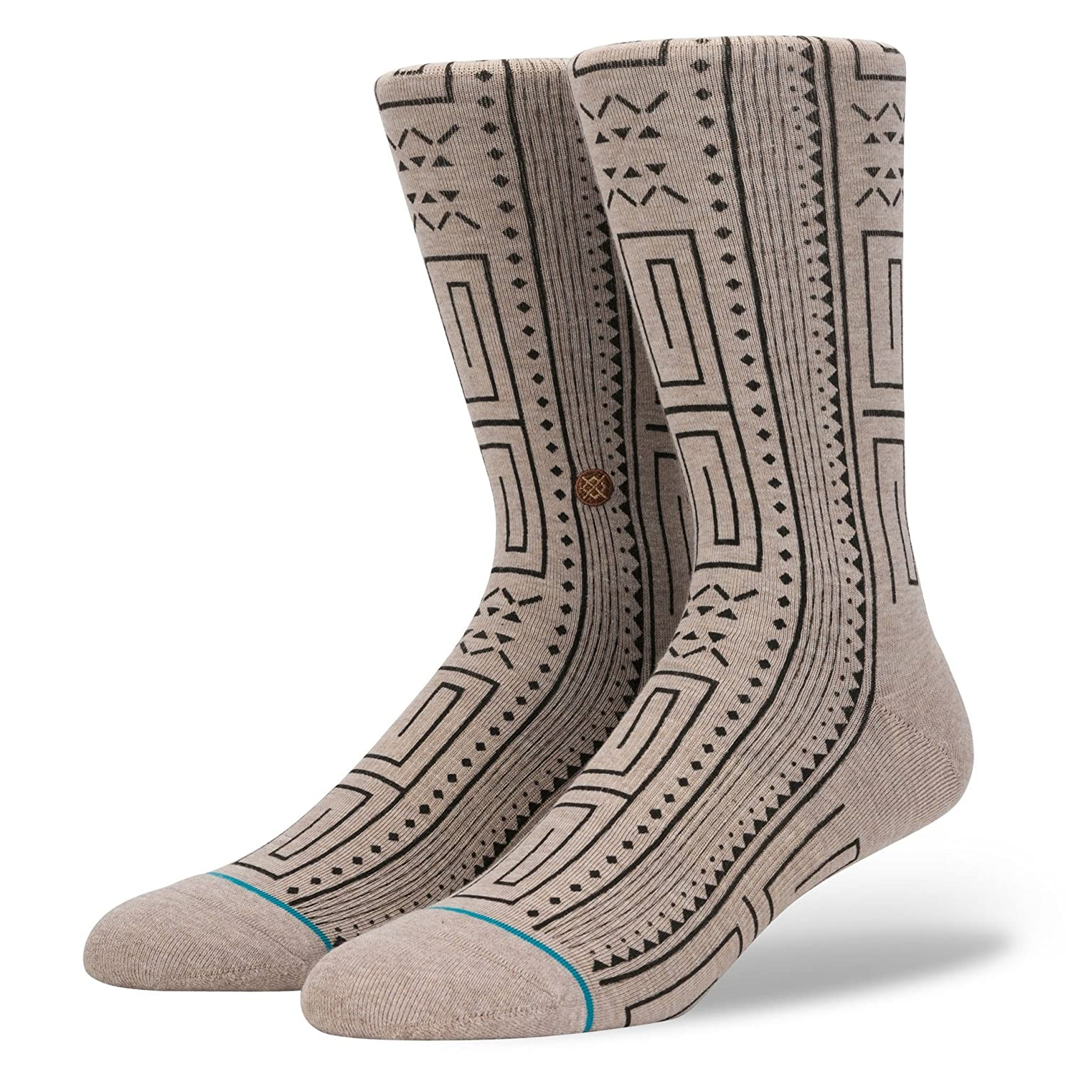 Stance Peruvian Blend Crew Socks - Medium Roast Large Stance Socks M545A18PEU