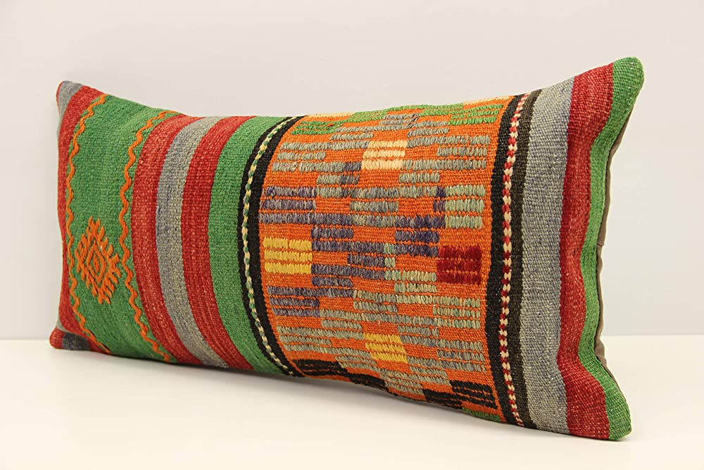30x60 Cm Turkish Kilim Pillow Cover Sofa Decor Accent Pillow Cover Kilim Cushion Cover Handmade Kilim Pillow Cover 12x24 Inch Throw Pillows Kolenik Handmade Products