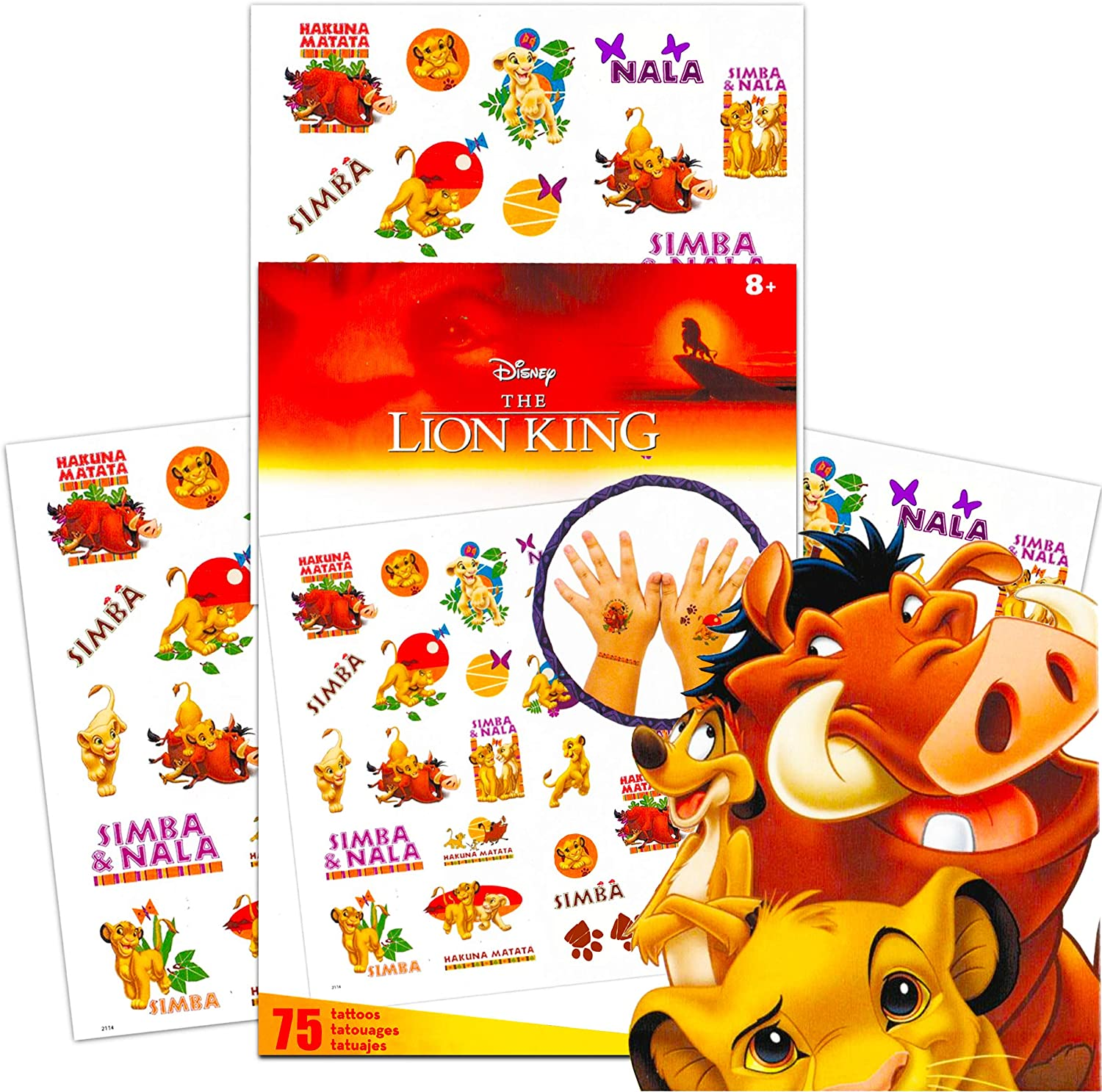 24 NEW LION KING CUPCAKE CAKE TOPPERS ASSORTED CHARACTERS PARTY GIFT BAG FAVORS