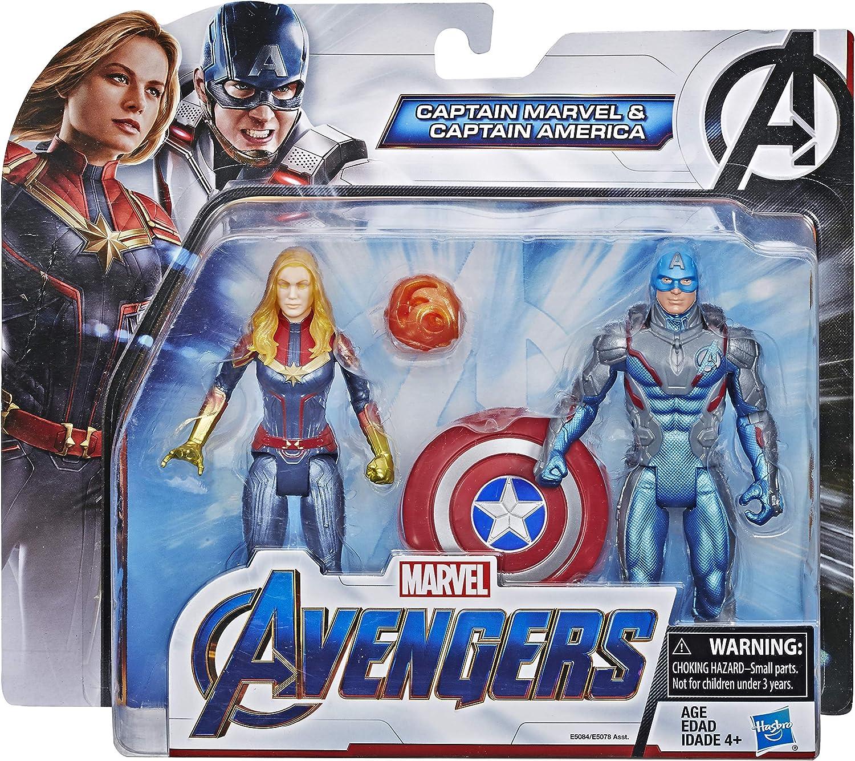 Marvel Avengers Endgame Captain America & Captain 2 Pack ...