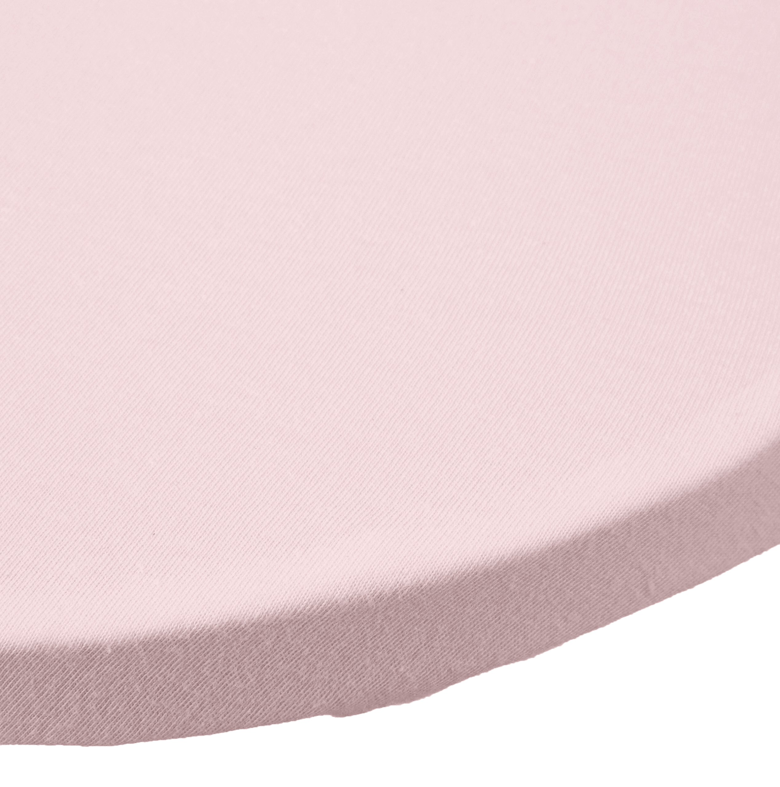 American Baby Company 2 Piece 100% Cotton Value Jersey Knit Fitted Bassinet Sheet, Pink