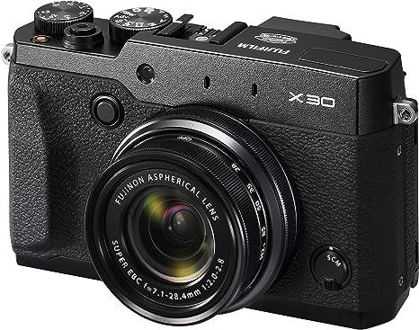 Fujifilm X30 - Cámara compacta de 12 MP (Pantalla de 3