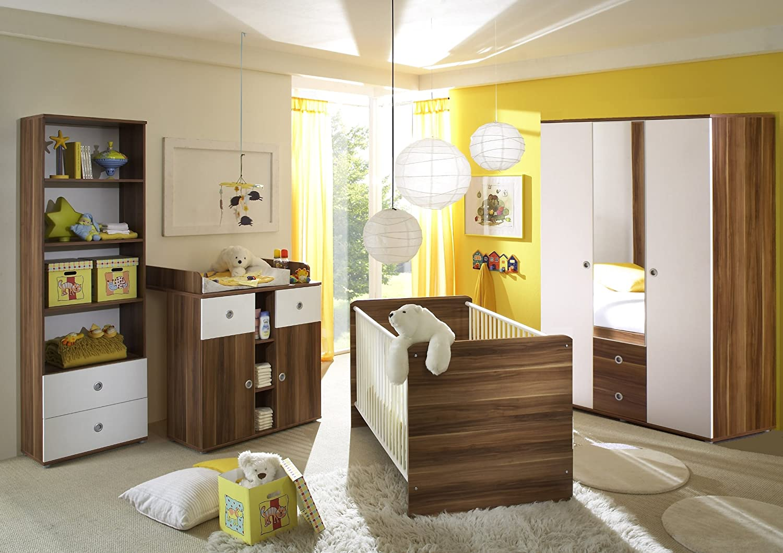 Babyzimmer / Kinderzimmer WIKI 2 in Walnuss