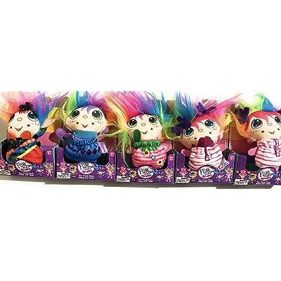 FlipZee Trolls Bonnet & Bundle Mini 3 1/2 x 2 inch: Toys & Games
