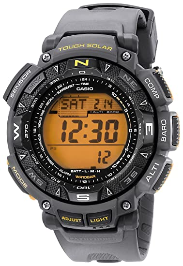 Casio para hombre PAG240 - 8 Pathfinder Triple Sensor Tough Solar Reloj digital: Amazon.es: Relojes