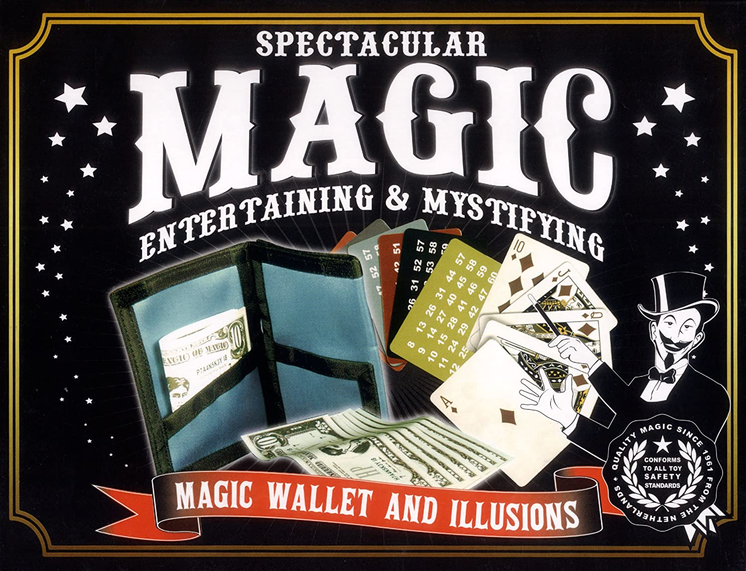 Spectacular Magic Wallet - Juego de Misterio (Funtime Gifts BV1100 ...