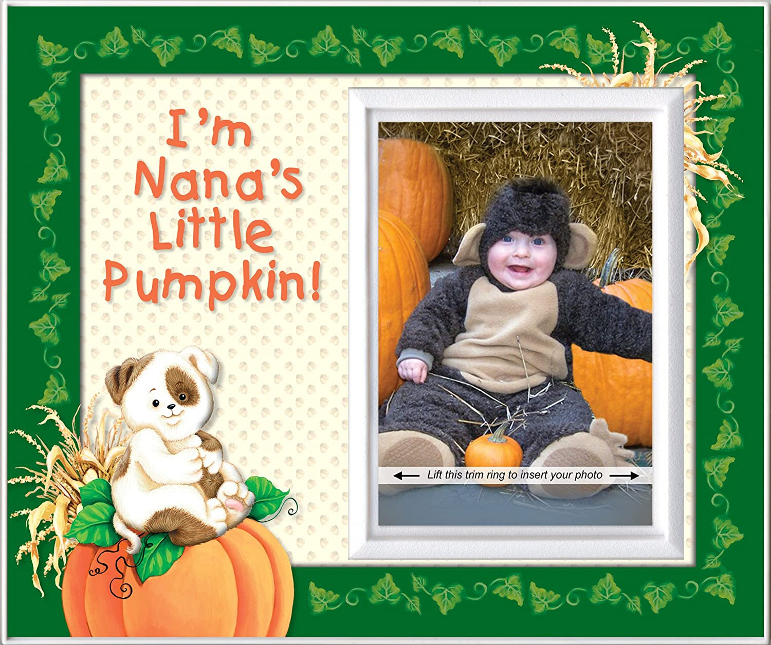 Nana's Little Pumpkin - Halloween Picture Frame Gift Expressly Yours!