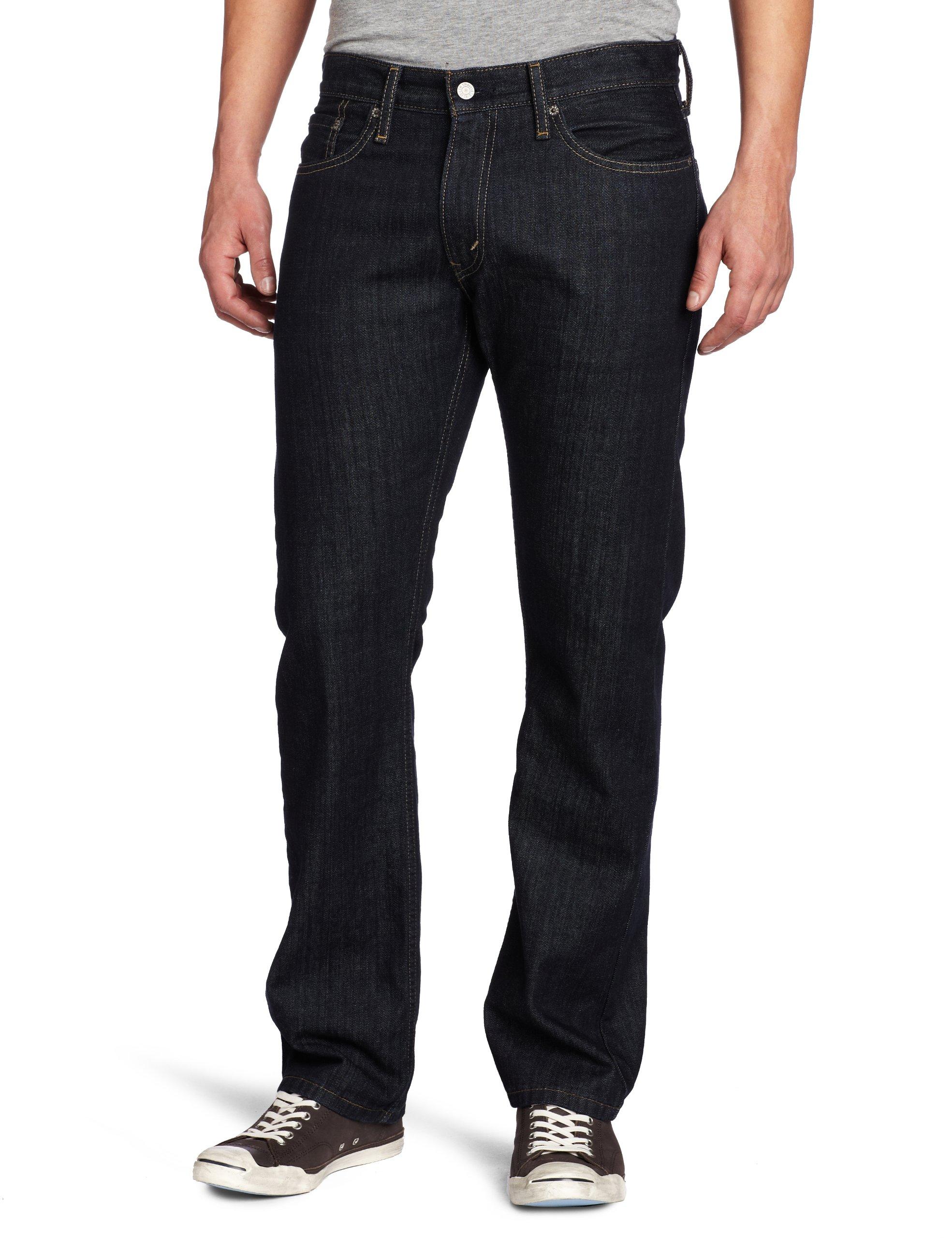 Levi's Men's 514 Straight fit Stretch Jean, Tumbled Rigid, 36x32