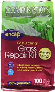 Encap Premium Grass Repair Kit with Hybrid Mulch, 1.25 pounds