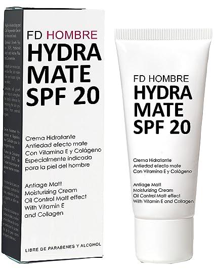 Fridda Dorsch Hydramate - Crema ultra-hidratante mate antiedad con SPF 20, ...