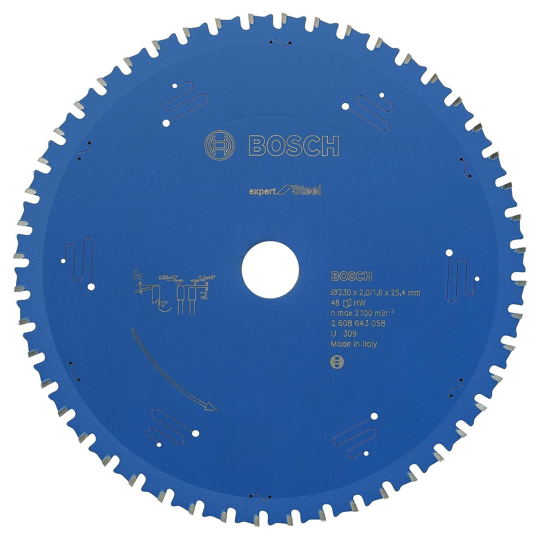 BOSCH Kreissä geblatt Expert fü r Steel, 210 x 30 x 2,0 mm, 48, 2608643057