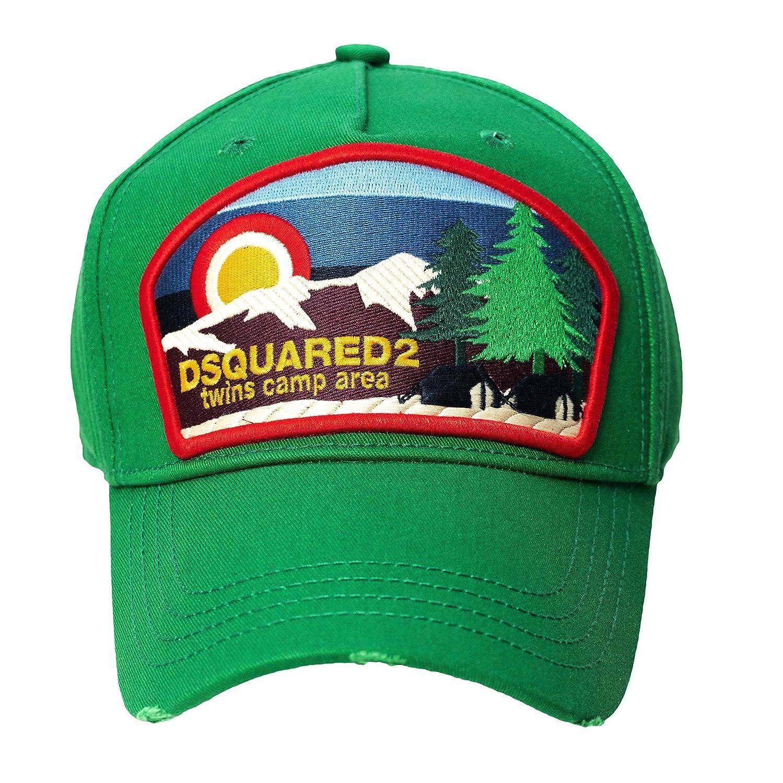 DSQUARED2 D2 - Gorra de béisbol, Color Verde: Amazon.es: Ropa y ...