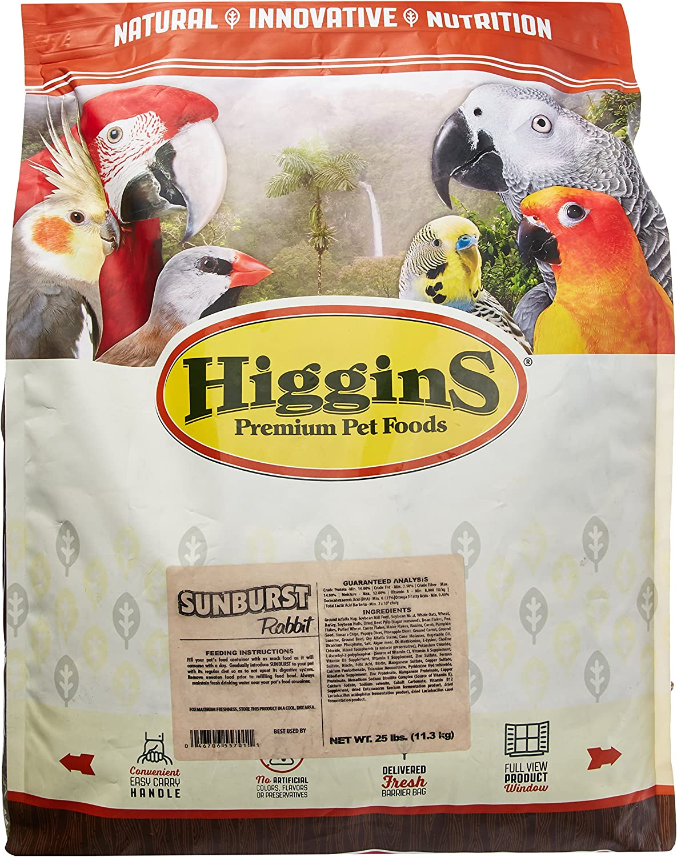 Higgins 466904 Higg Sunburst Rabbit Food, 25-Pound