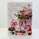 Greeting Card for Any Recipient from The Kindred Range by UK Greetings UKG-644045 Stunning Foil and Embossed Finish Male//Female Open Congratulations Card - Time to Celebrate