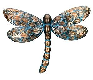 Regal Art & Gift Patina Dragonfly Wall Decor