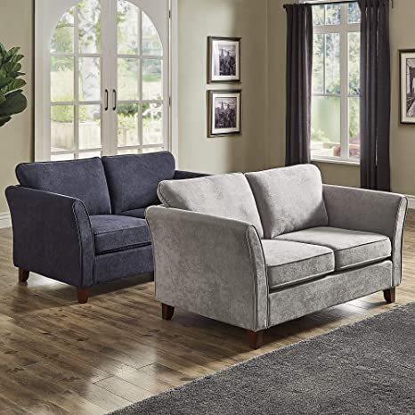 Miraculous Amazon Com Inspire Q Gia Low Profile Loveseat By Classic Short Links Chair Design For Home Short Linksinfo